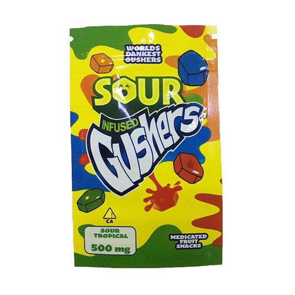 Delta 8 Gushers infused