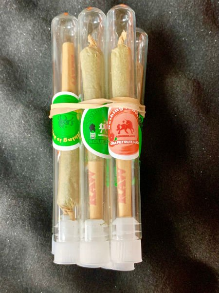 Terpene Infused Hemp Pre-rolls