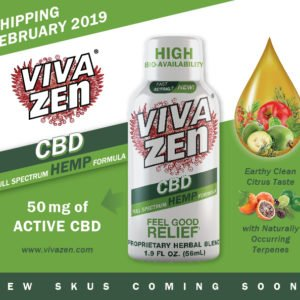 Vivazen Hemp CBD Shot