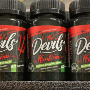 Red Devil Kratom Capsules