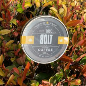 CBD Infused instant Coffee BOLT